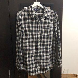 Gap button down shirt - plaid